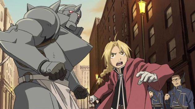 Fullmetal Alchemist brothers