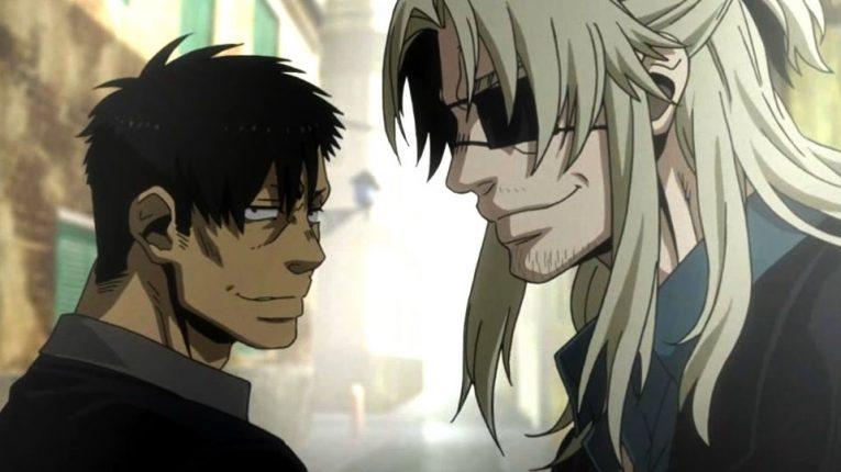 Gangsta anime characters
