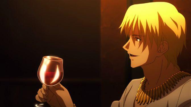 Gilgamesh fate wine glass