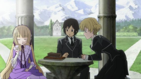 GoSick series 3 characters