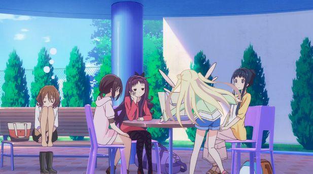 Hanayamata episode 8 screenshot