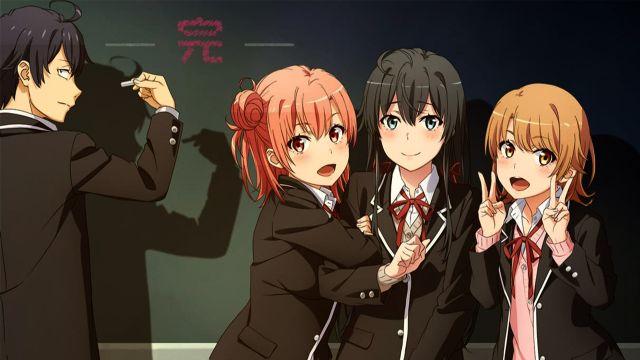 Oregairu hachiman and the girls