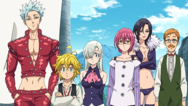 The Seven Deadly Sins series characters