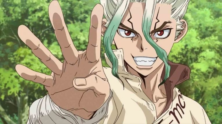 dr stone anime screenshot