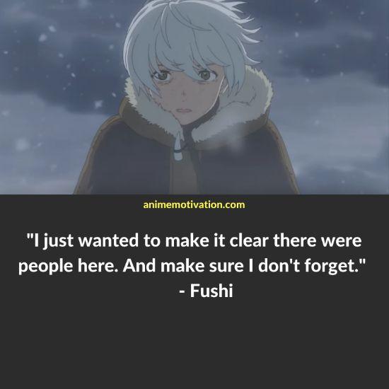 fushi quotes to your eternity