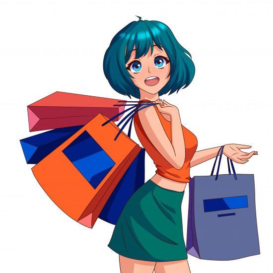 hikari yorokobi mascot shopping