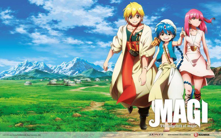 anime like magi