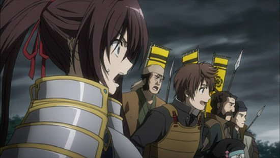 oda nobuna army anime
