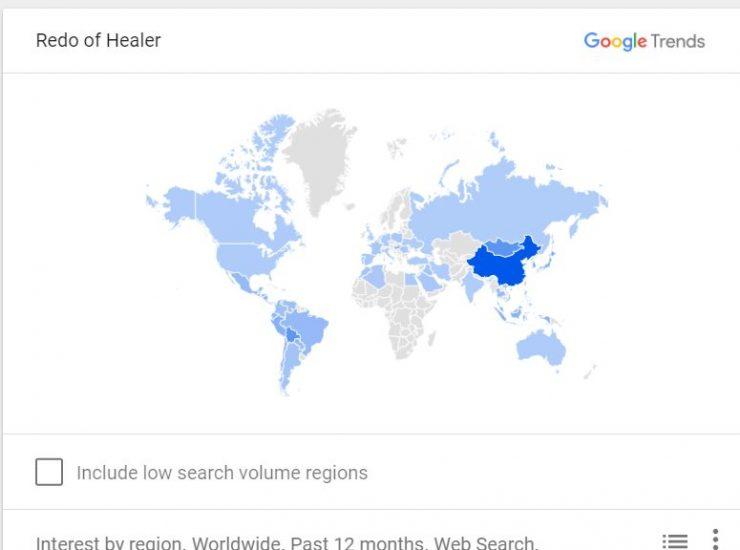 redo of healer map