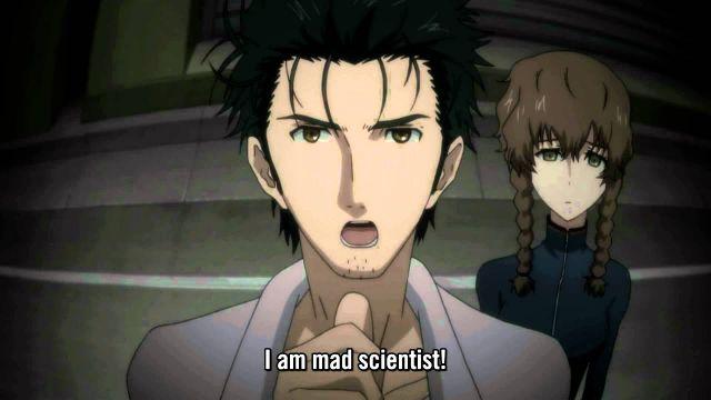 steins gate mad scientist
