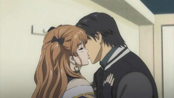 white album anime kiss