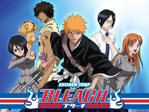 Bleach cover characters ichigo