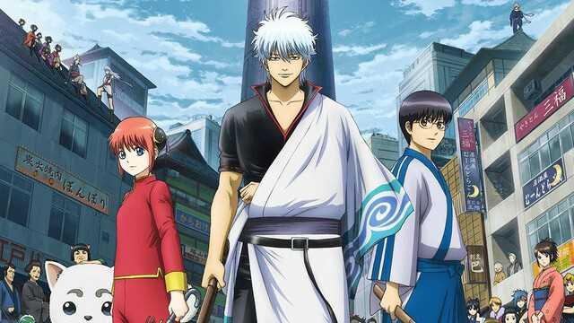 Gintama trio