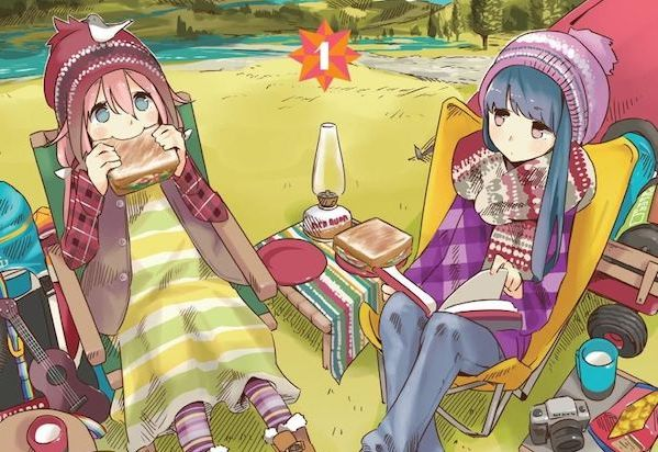 Laid Back Camp manga comics