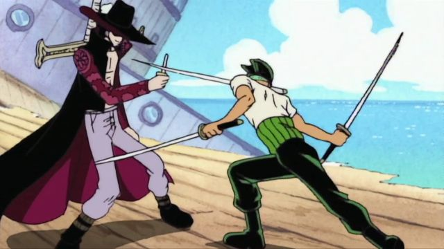 Mihawk Defeated Zoro With A Butter Knife