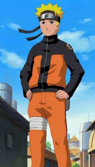 Naruto Uzumaki confident