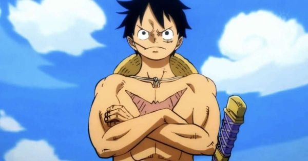 One Piece luffy serious face
