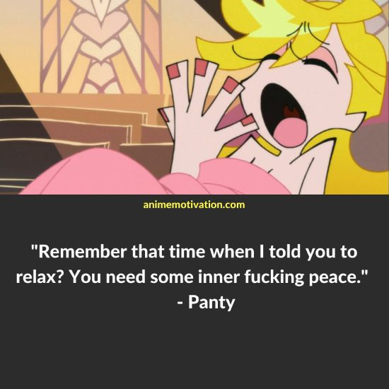 Panty quotes panty and stocking 1