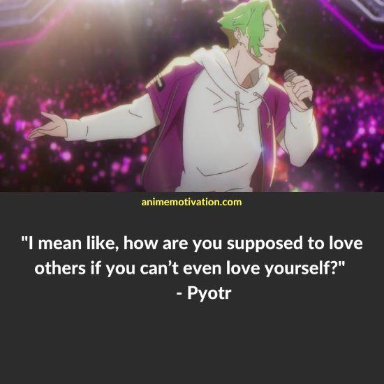 Pyotr anime quotes