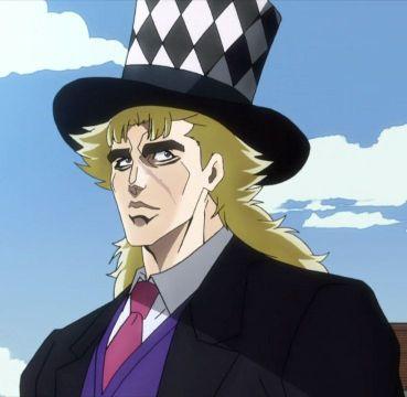Speedwagon jojo hat