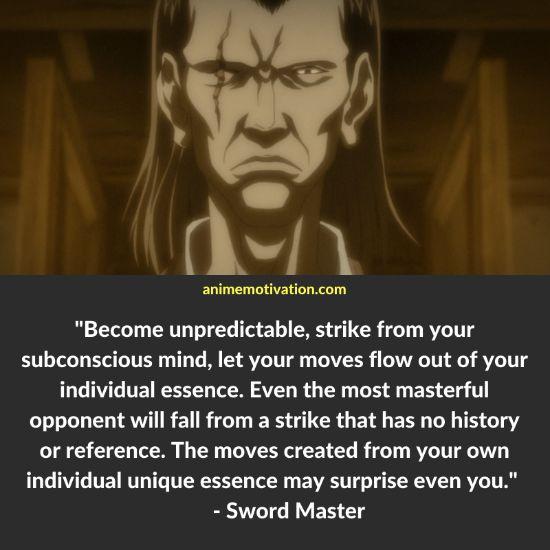 Sword Master quotes afro samurai