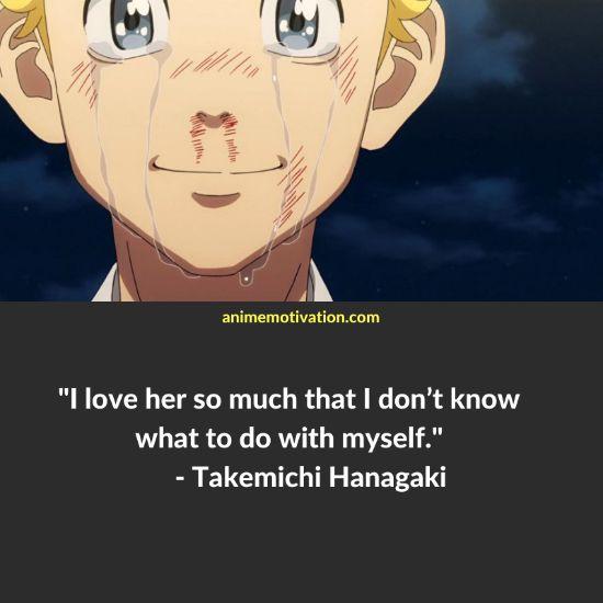 Takemichi Hanagaki quotes tokyo revengers 5