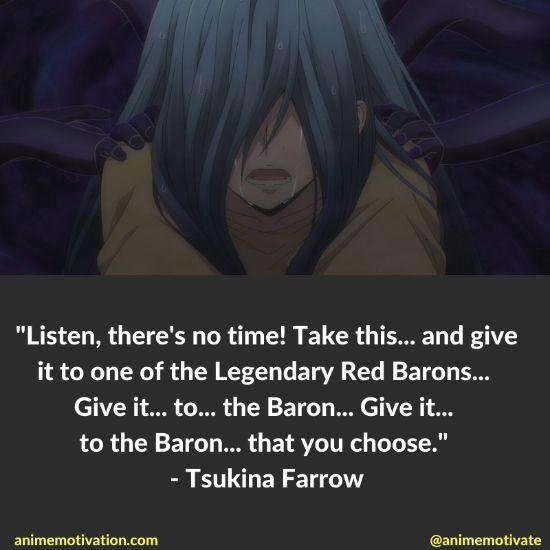 Tsukina Farrow quotes plunderer