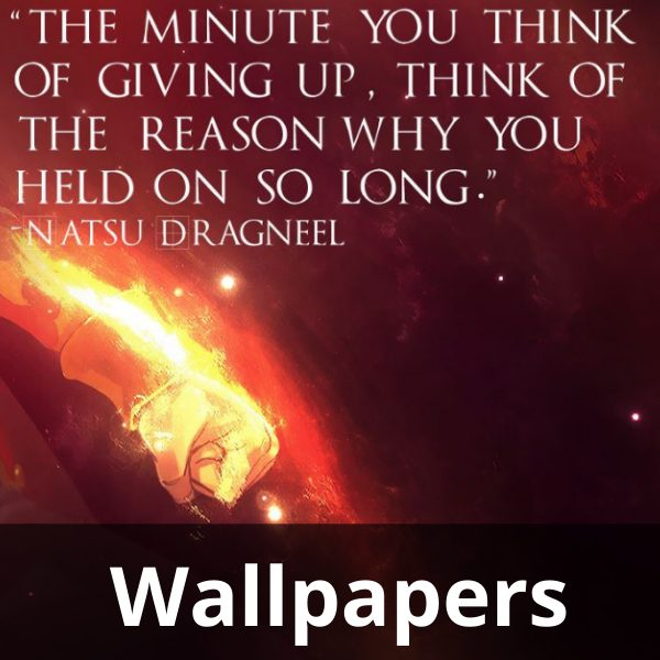 animemotivation quotes wallpapers
