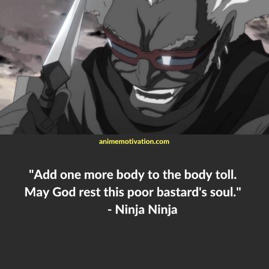 ninja ninja quotes afro samurai
