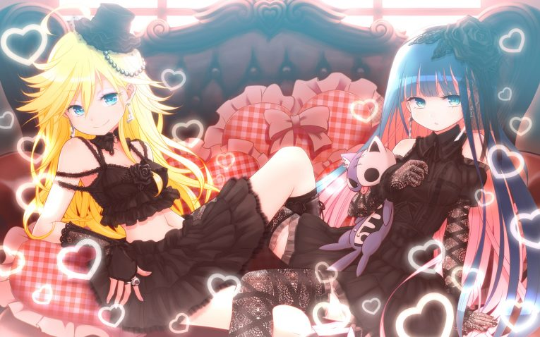 Panty And Stocking With Garterbelt Wallpaper Sexy