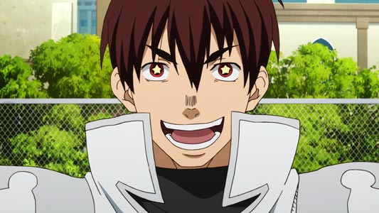 anime characters with star eyes