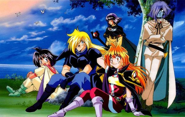 slayers cover 5 characters