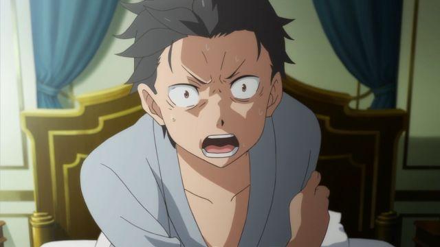 subaru natsuki angry protagonist 1