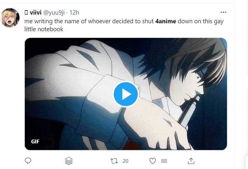 4anime deathnote tweet