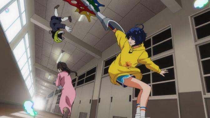Ai Ohtos episode 6 fight scene Wonder Egg Priority