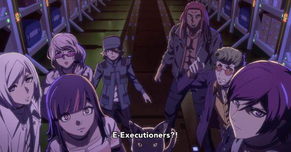 Akudama Drive executioners screenshot