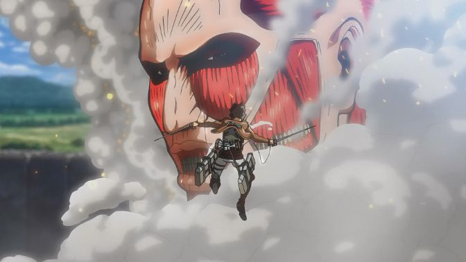 Attack On Titan season 1 titan