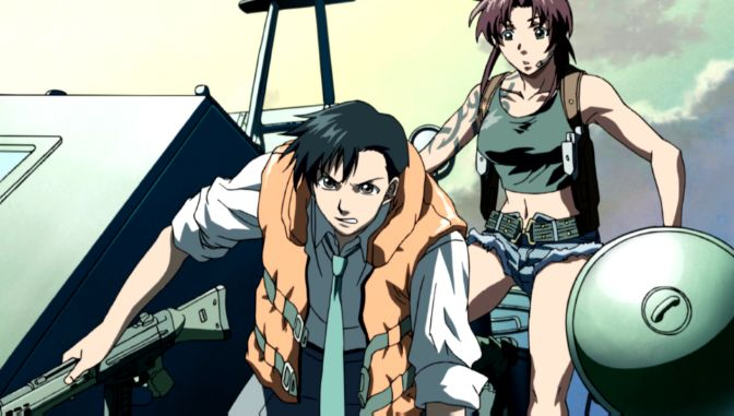 Black Lagoon episode 1 rock and revy