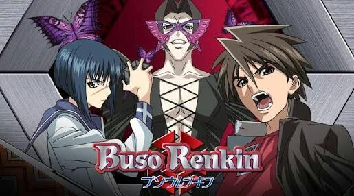 Busou Renkin anime cover