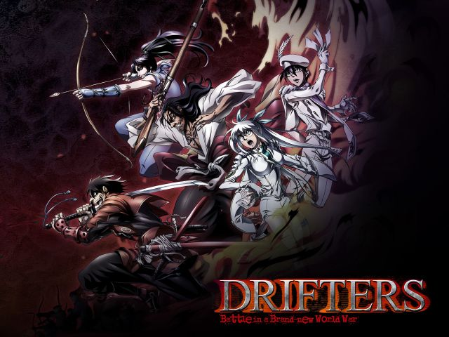 Drifters anime cover