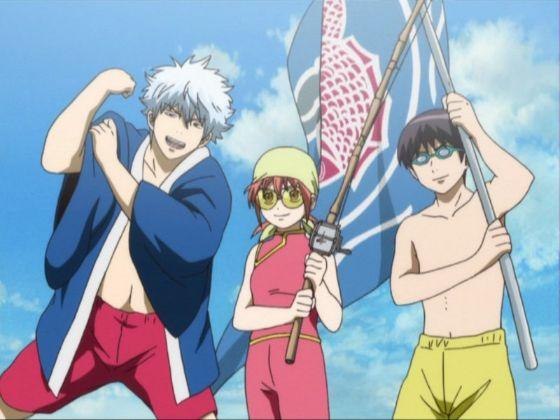 Gintama episode 174 scene