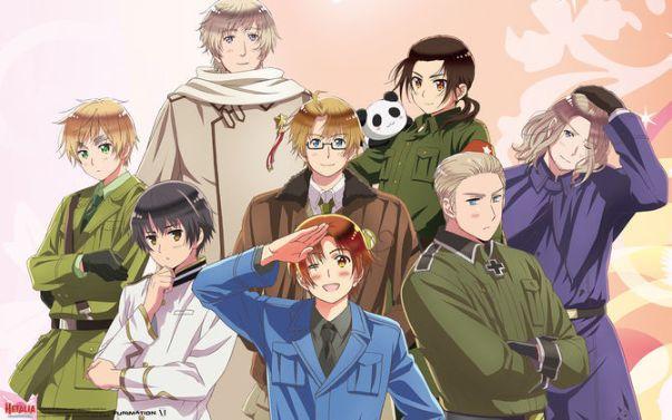 Hetalia Axis Powers anime series