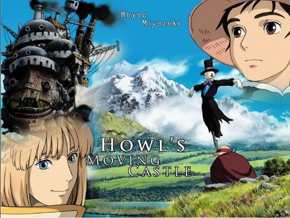 Howls Moving Castle 2004 cover