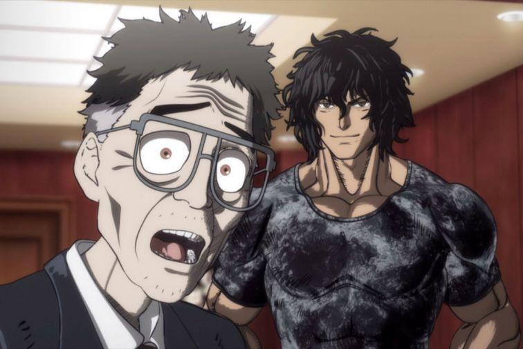 Kengan Ashura anime series