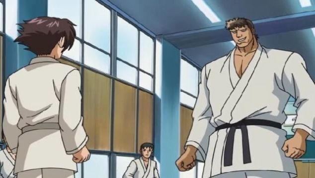 Kenichi The Mightiest Disciple martial arts fight