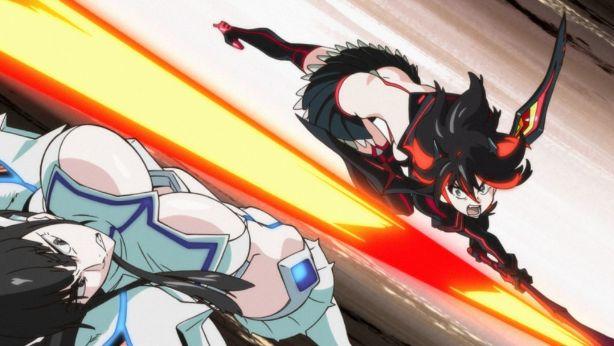 Kill La Kill ryuko vs satsuki transformed