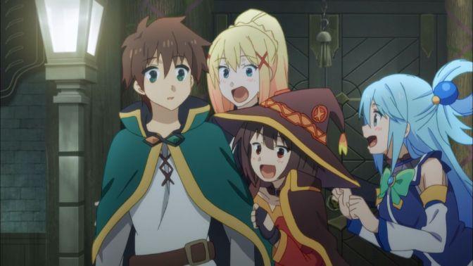 Konosuba squad 4 characters