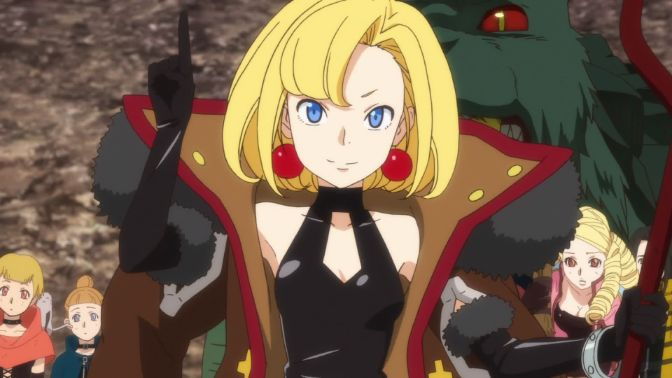 Maria the Virgin Witch anime