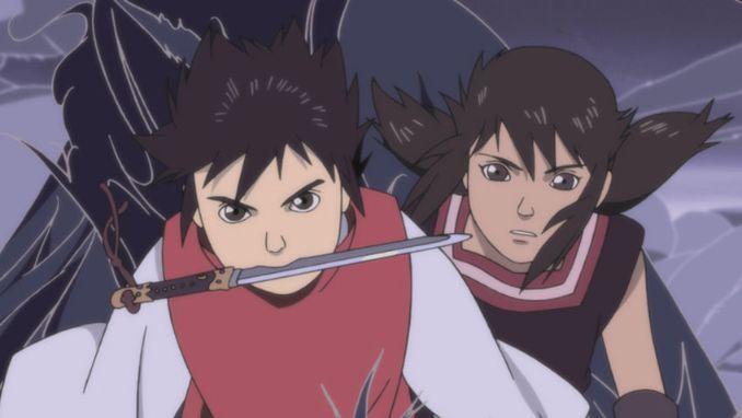 Onigamiden anime visuals