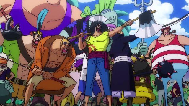 Roger Pirates vs Whitebeard Pirates One Piece